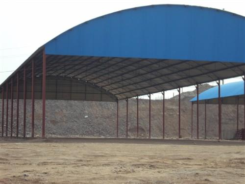 大型钢结构彩钢瓦板雨棚仓库汽车自行车篷雨蓬苏州无锡吴江昆山